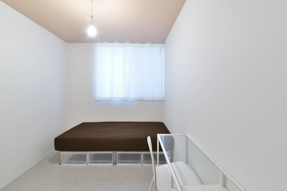 シェアハウスZEZE大阪の個室