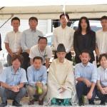 シェアハウスSEN大阪の地鎮祭|TESENシェアハウス&ホステル