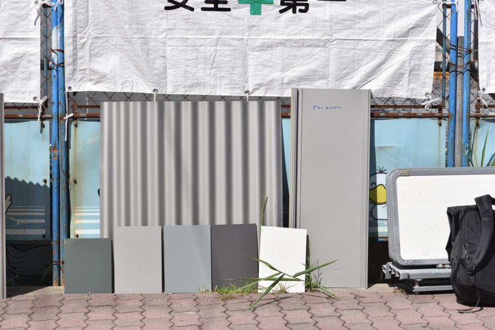 「本日の確認」最終選択!シェアハウスZEZE大阪に相応しい外観仕上げ|TESENシェアハウス&ホステル