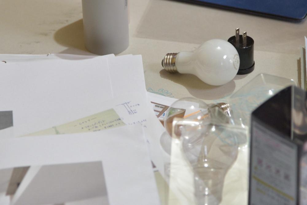 シェアハウスZEZE大阪の照明計画
