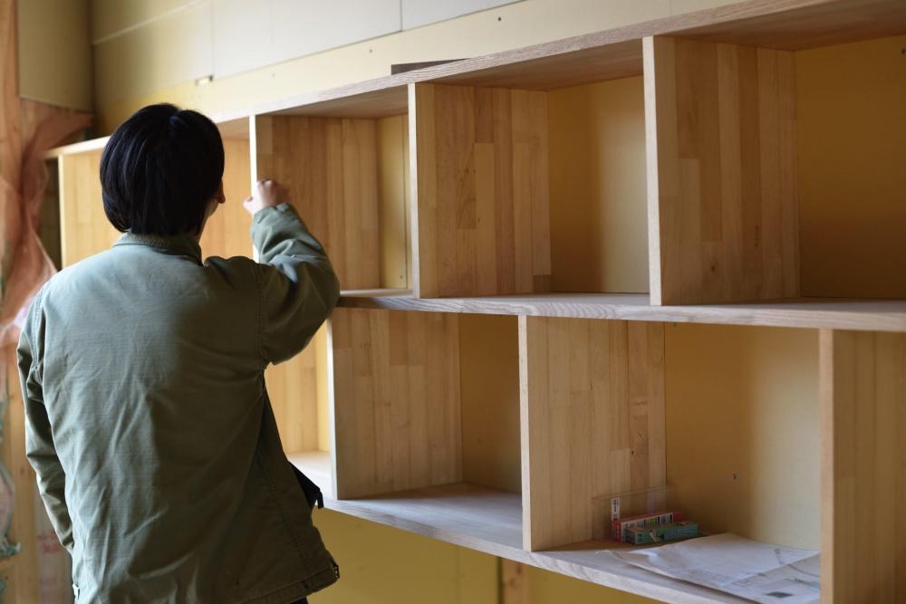 新築シェアハウスZEZE大阪の中2階
