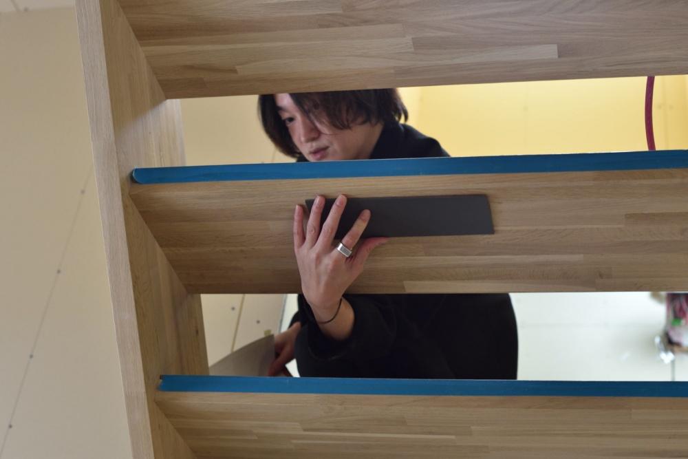シェアハウスZEZE大阪の色合わせ