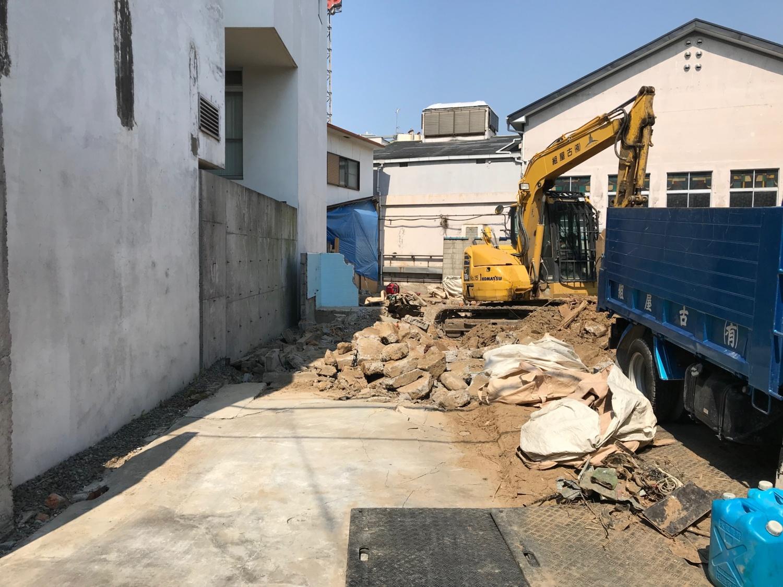 シェアハウス千林大宮プロジェクト解体