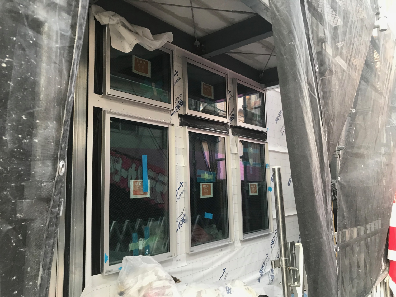 建設風景|新築シェアハウス KAE STORY