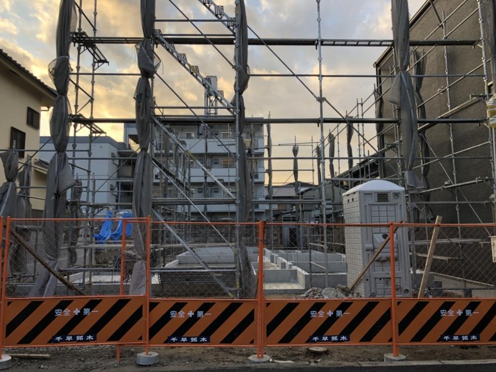 新築シェアハウス第4弾 HAYA OSAKA~何事も基礎が大事??~