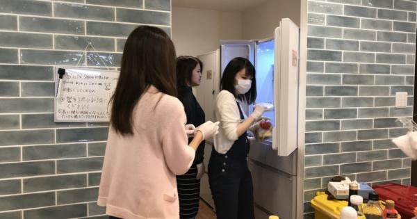 シェアハウスSEN大阪大掃除