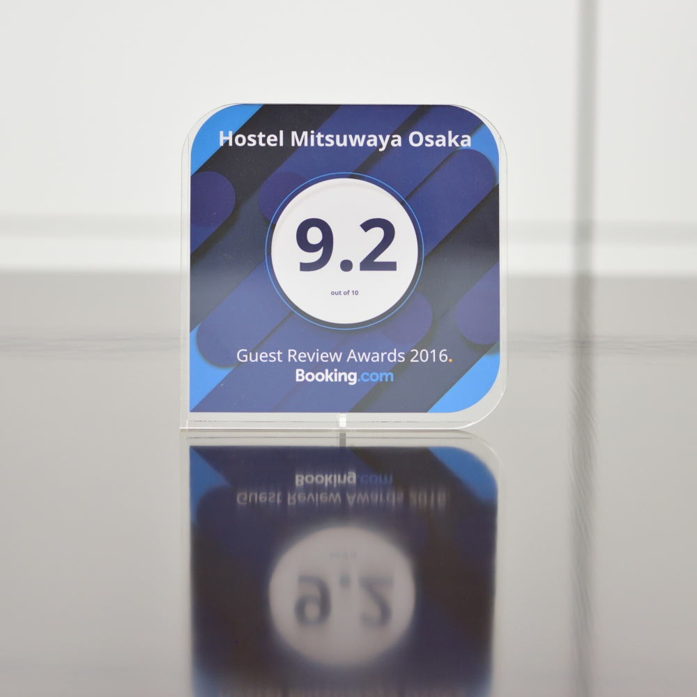 ホステルみつわ屋大阪の受賞