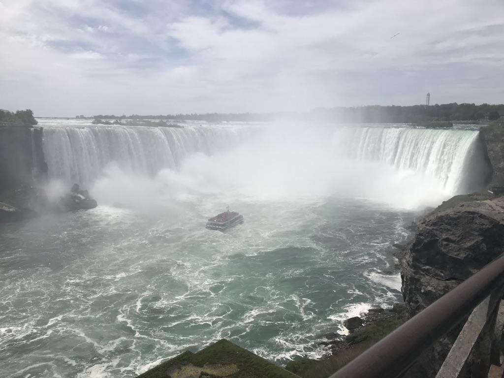 Staff Saki trip in Canada