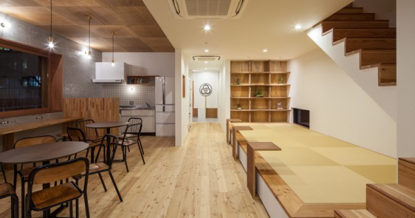 HOSTEL MITSUWAYA(ホステルみつわ屋)|TESEN|SHARE HOUSE & HOSTEL(テセン・シェアハウス&ホステル)