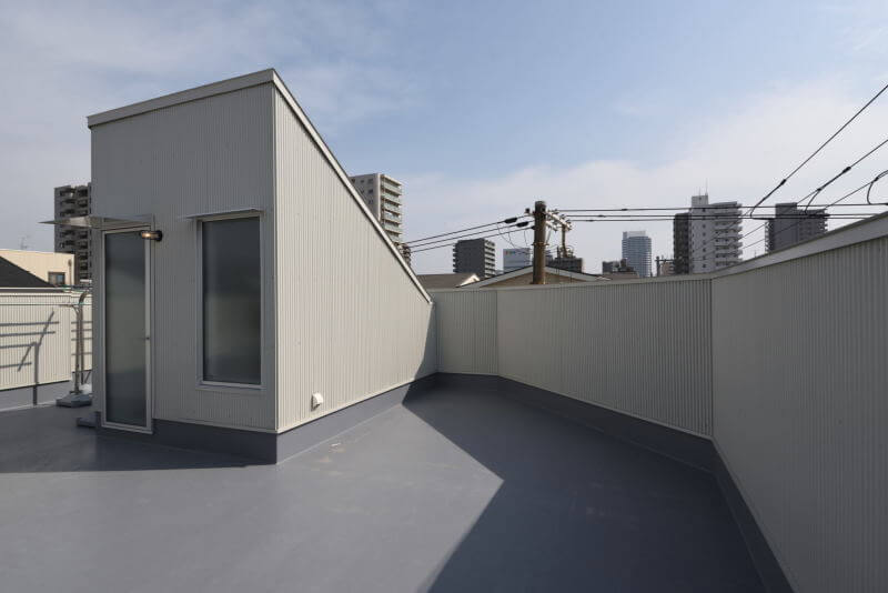 02ROOFTOP / 屋上|TESENのシェアハウス ZEZE 大阪