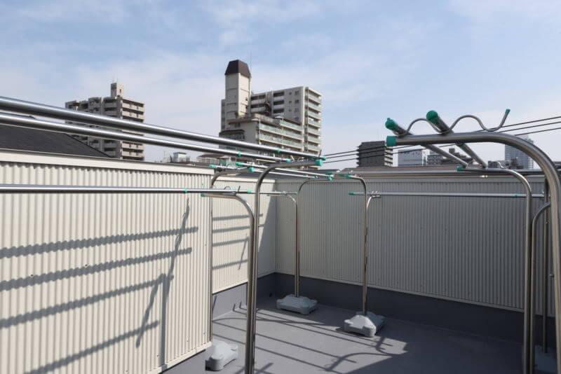 04ROOFTOP / 屋上|TESENのシェアハウス ZEZE 大阪